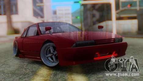 Nissan Silvia S13 Shakotan for GTA San Andreas