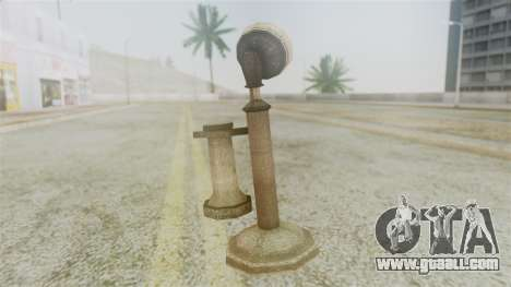 Red Dead Redemption Cell Phone for GTA San Andreas second screenshot