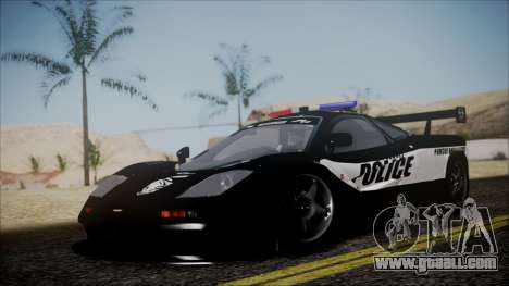 NFS Rivals McLaren F1 LM for GTA San Andreas
