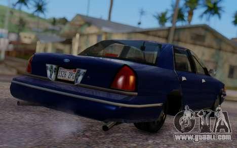 Ford Crown Victoria Civillian for GTA San Andreas left view