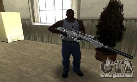 Original Sniper Rifle for GTA San Andreas third screenshot