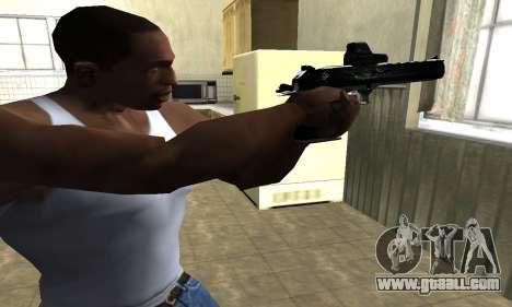Blue Deagle for GTA San Andreas second screenshot