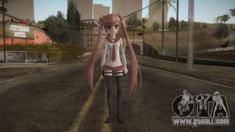 Kanzaki H Aria [Hidan no Aria] for GTA San Andreas second screenshot