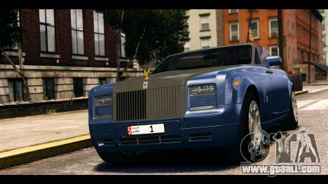 Rolls-Royce Phantom 2013 Coupe v1.0 for GTA 4