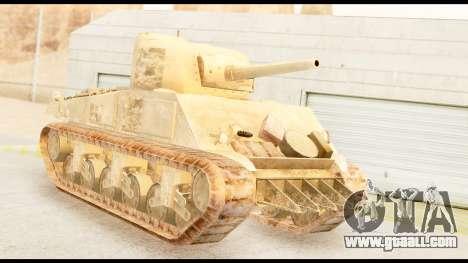 M4 Sherman 75mm Gun Desert for GTA San Andreas