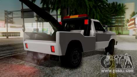 Towtruck New Edition for GTA San Andreas left view