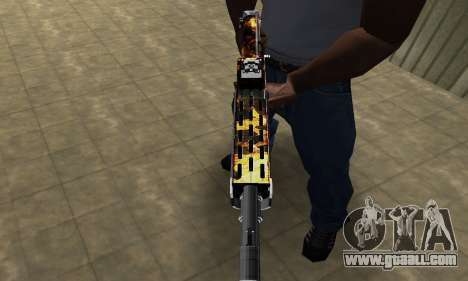 Brighty Yellow Combat Shotgun for GTA San Andreas