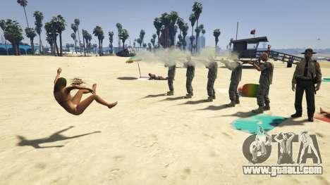 GTA 5 Firing Squad fourth screenshot