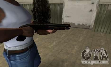 Leopard Shotgun for GTA San Andreas second screenshot