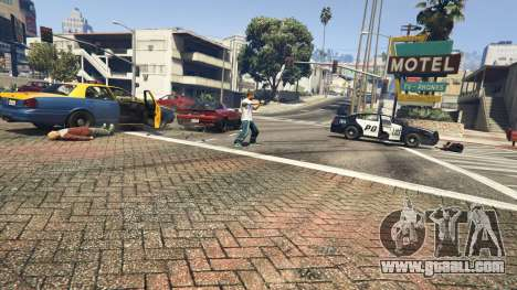 Police Chase Random Event for GTA 5