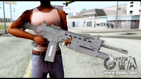M4 from Resident Evil 6 for GTA San Andreas third screenshot