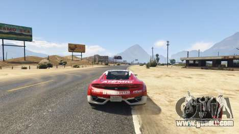 NFS gauge - RPM Gear Speedometer 1.0.1 for GTA 5