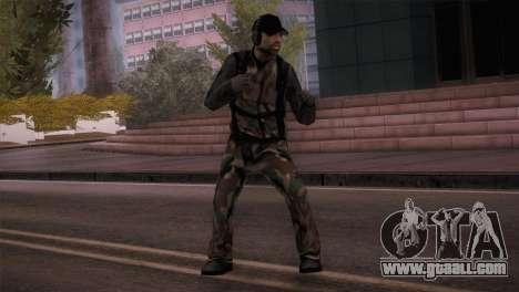 Radioman for GTA San Andreas