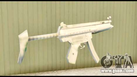MP5 with stock for GTA San Andreas second screenshot