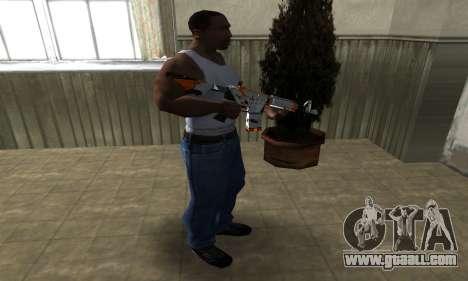 M4 Asiimov for GTA San Andreas third screenshot