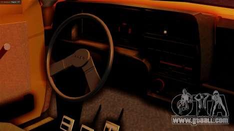 Fiat 147 Al Piso for GTA San Andreas right view