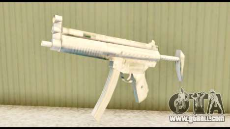 MP5 with stock for GTA San Andreas