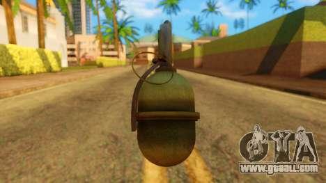 Atmosphere Grenade for GTA San Andreas