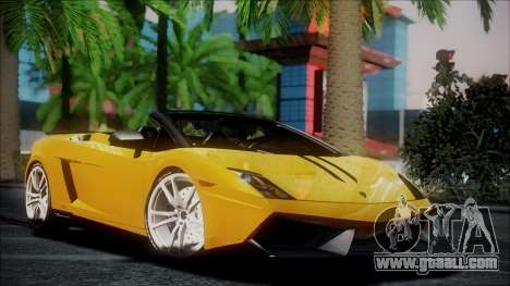 Lamborghini Gallardo LP570-4 Spyder 2012 for GTA San Andreas