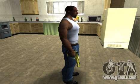 Sponge Bob Deagle for GTA San Andreas third screenshot