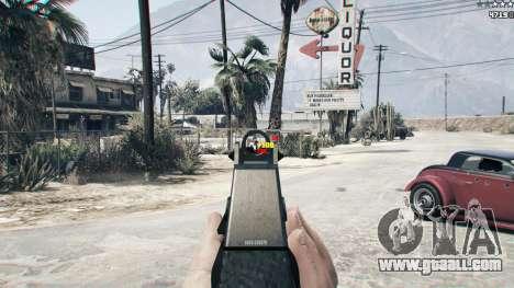 GTA 5 Combat HUD 1.0.2 second screenshot