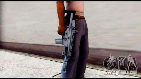 MK16 PDW Standart Quality v2 for GTA San Andreas third screenshot