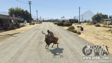 Ride A Deer [.NET] 0.2b for GTA 5