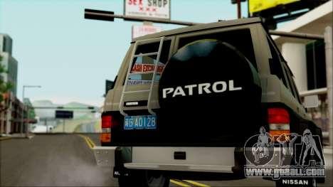 Nissan Patrol Y60 for GTA San Andreas left view