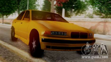 BMW M3 E36 SA Style for GTA San Andreas