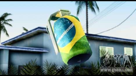 Brasileiro Grenade for GTA San Andreas third screenshot