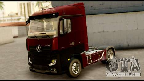 Mercedes-Benz Actros MP4 4x2 Standart Interior for GTA San Andreas