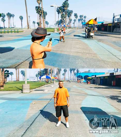 Ped Transform v0.2 for GTA 5