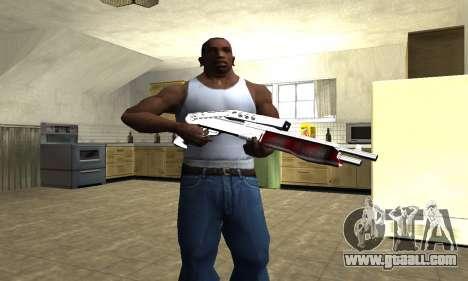 Blood Combat Shotgun for GTA San Andreas third screenshot