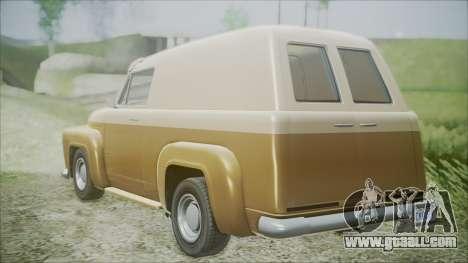 GTA 5 Vapid Slamvan for GTA San Andreas left view