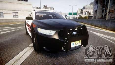 Ford Taurus 2010 Elizabeth Police [ELS] for GTA 4
