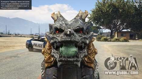 GTA 5 CFs Thompson Infernal Dragon fifth screenshot