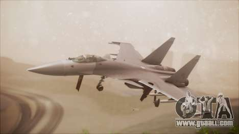 SU-35 Flanker-E Ofnir Ace Combat 5 for GTA San Andreas