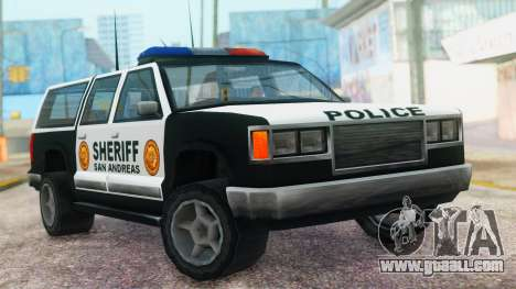Police 4-door Yosemite for GTA San Andreas
