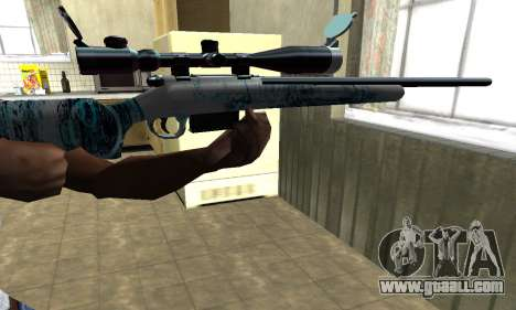 Mini Water Time Sniper Rifle for GTA San Andreas second screenshot