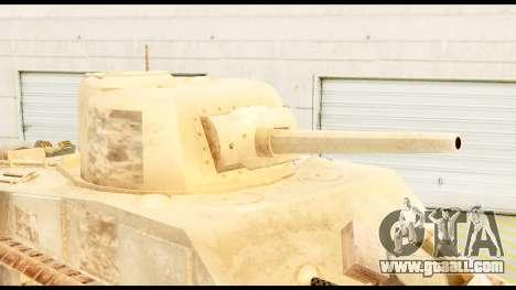 M4 Sherman 75mm Gun Desert for GTA San Andreas right view