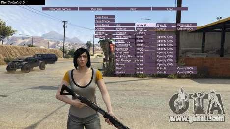GTA 5 Skin Control 2.0 fourth screenshot