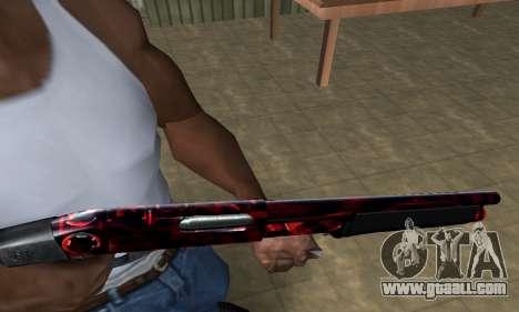 Redl Shotgun for GTA San Andreas