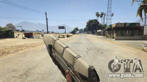 GTA 5 Halo UNSC: Assault Rifle seventh screenshot