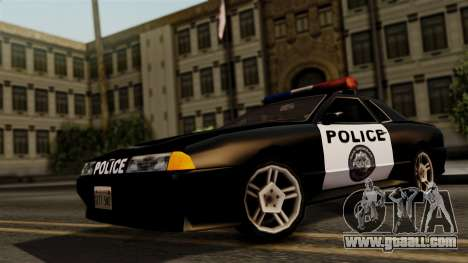 Police Elegy for GTA San Andreas