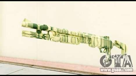Shotgun from Crysis 2 for GTA San Andreas