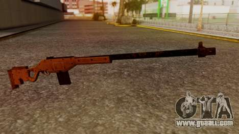A Police Marksman Rifle for GTA San Andreas