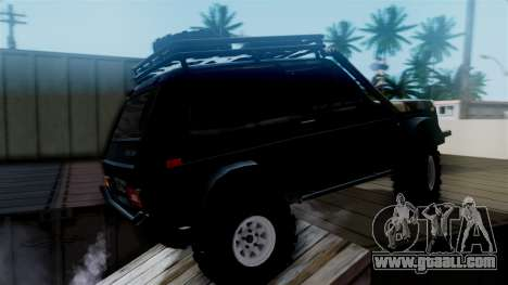 VAZ 2121 Niva Offroad for GTA San Andreas back left view
