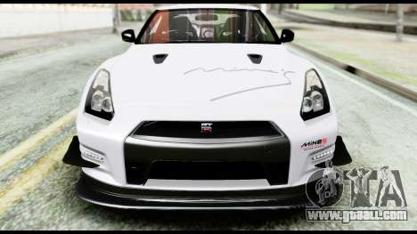Nissan GT-R R35 2012 for GTA San Andreas side view