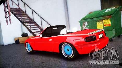 Mazda MX-5 modified [EPM] for GTA 4 left view