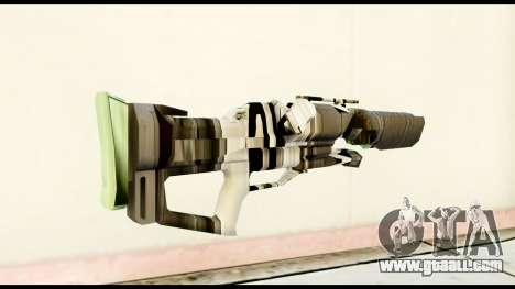 Rocket Launcher from Crysis 2 for GTA San Andreas second screenshot
